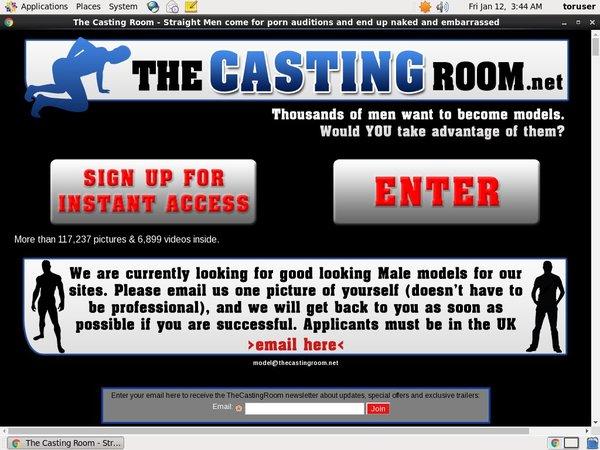 Discount Thecastingroom.net Account