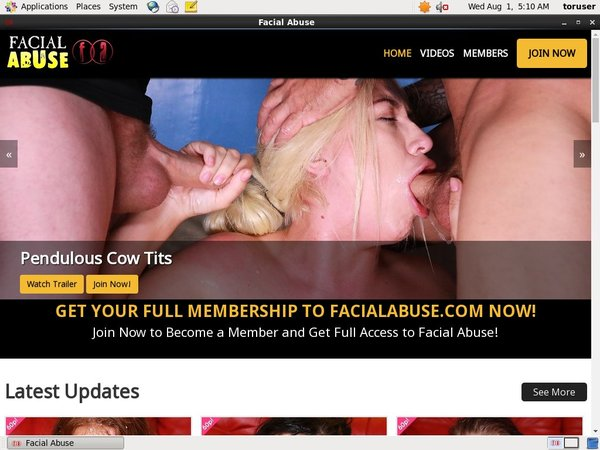 Facialabuse Limited Offer