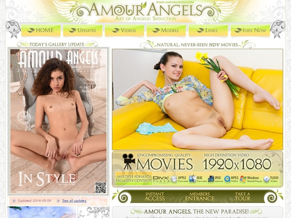 Free Amour Angels Promo