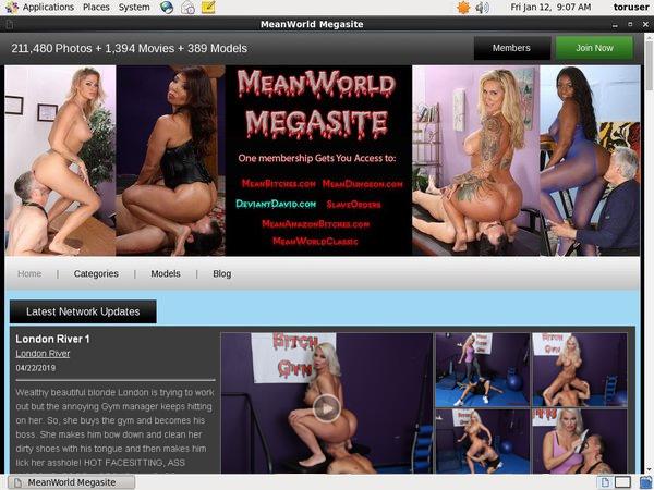 Meanworld.com Members