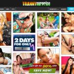 Surprise Tranny Membership Discount