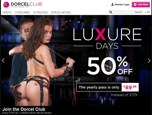Dorcelclub.com Renew Subscription