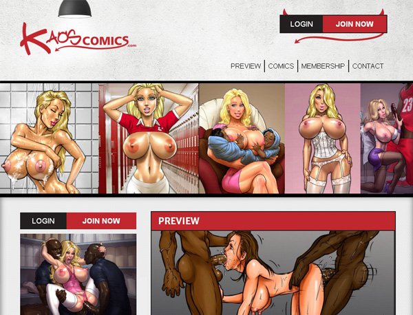 Account Free For Kaos Comics