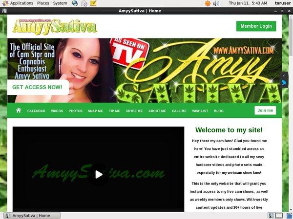 Amyy Sativa Free Trial Pass