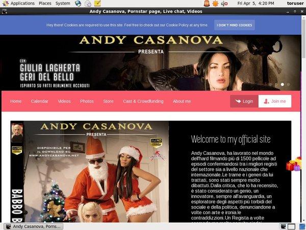 Andy Casanova Mobile Pass