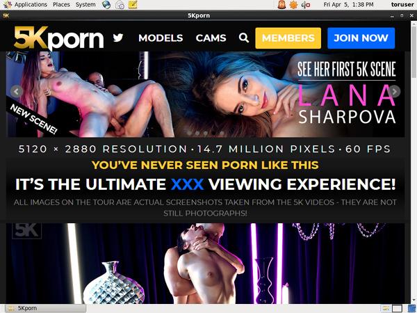 5K Porn Cash