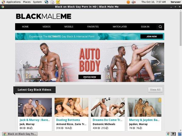 Black Male Me Nude