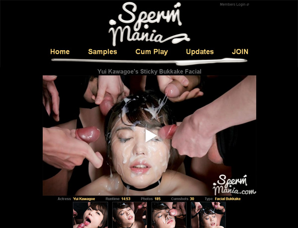 Spermmania.com Account Online