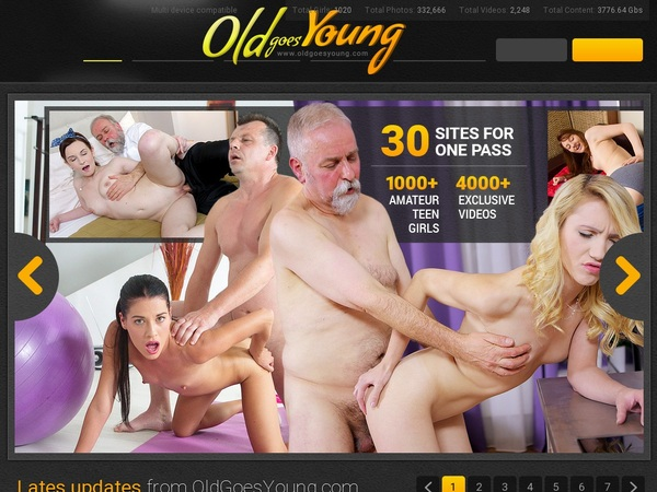 Oldgoesyoung.com Trial Link