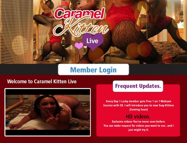 Caramelkittenlive.com No Credit Card