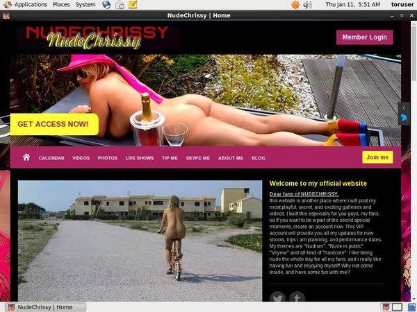 Nude Chrissy Free Sex