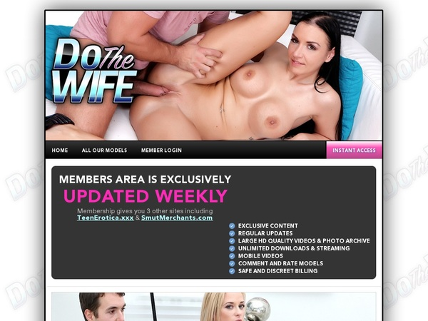 Dothewife.com Join Now