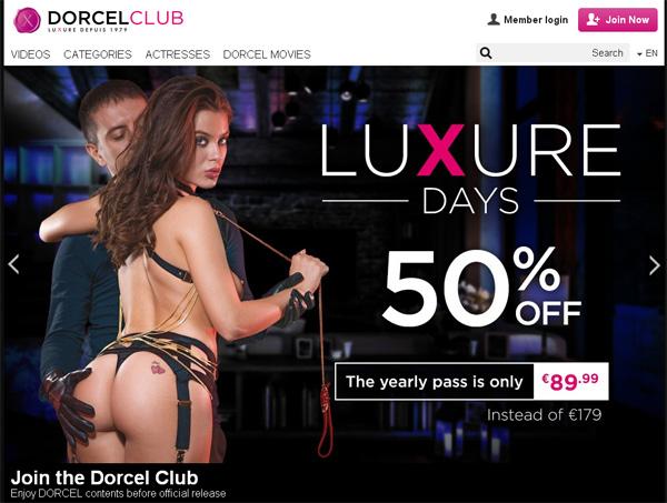 Dorcelclub.com Working Passwords