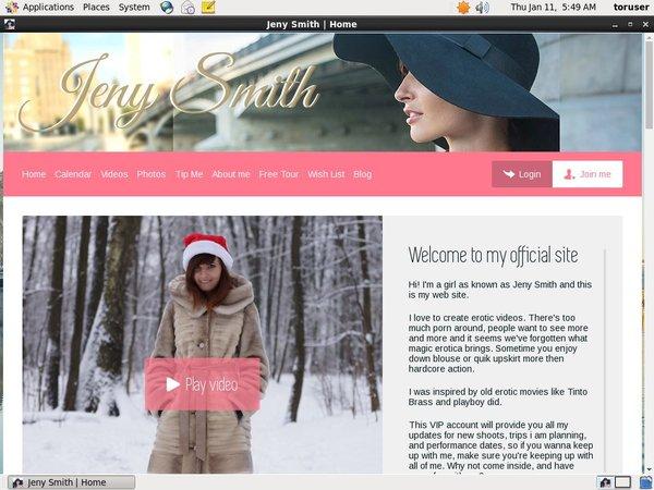 JenySmith Password Site