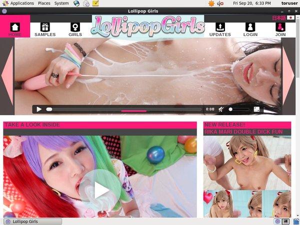 Lollipopgirls.jp Login Information