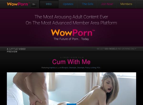 Wowporn.com Checkout Form