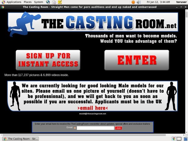The Casting Room Discount Checkout